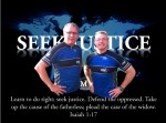 Brian Cress (L) and Gary Haugen (R) from IJM